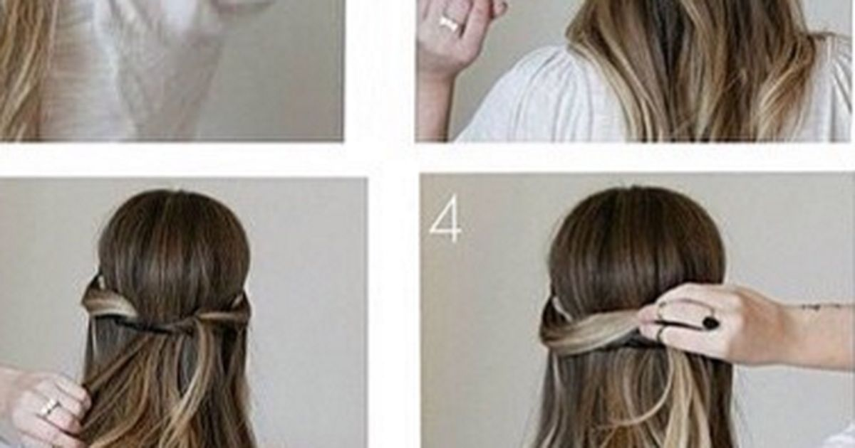 Here s the miracle 2 minute hairstyle for girls on the go